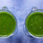 Smoothie avocado, andijvie en banaan