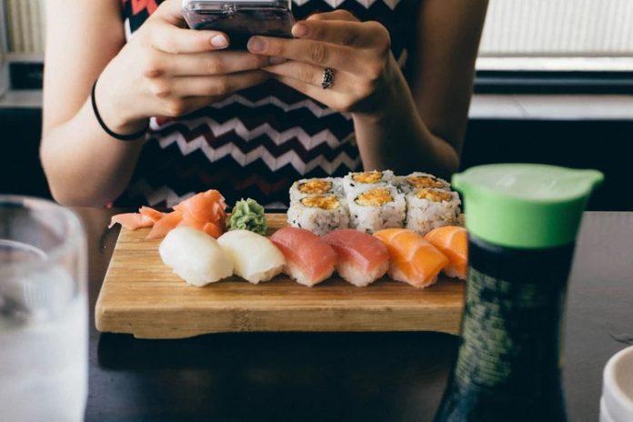 gezonde sushi gerechten
