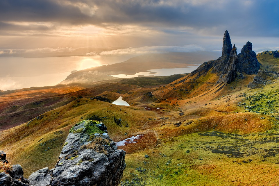 Schotse hooglanden wandelen